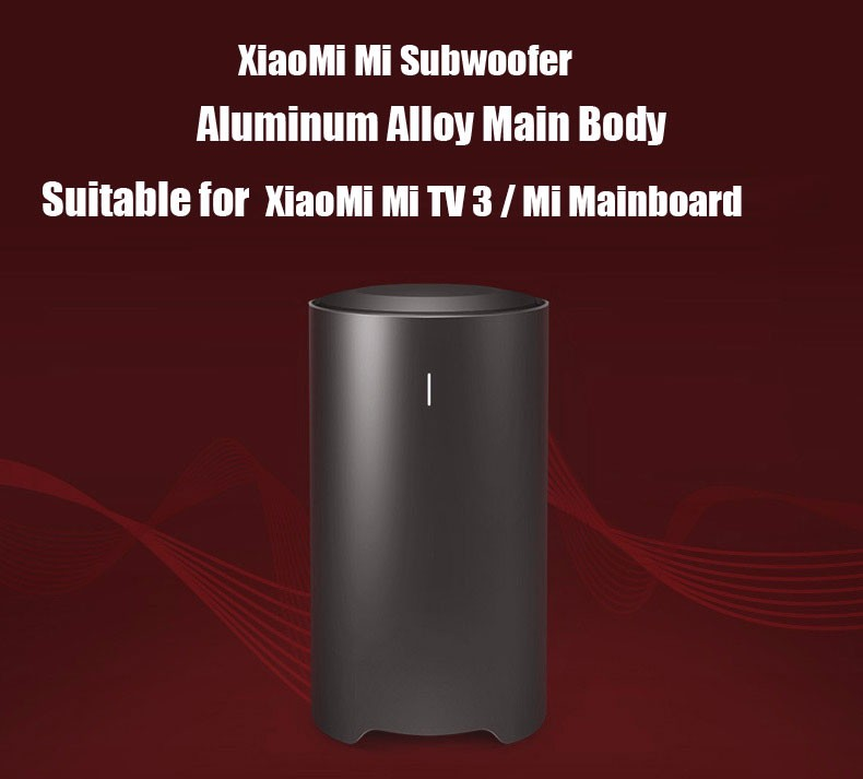 Original Xiaomi Subwoofer Wireless Bluetooth Wired Function with 6.5 inch Passive Radiator for Xiaomi TV 3 / Xiaomi TV Console
