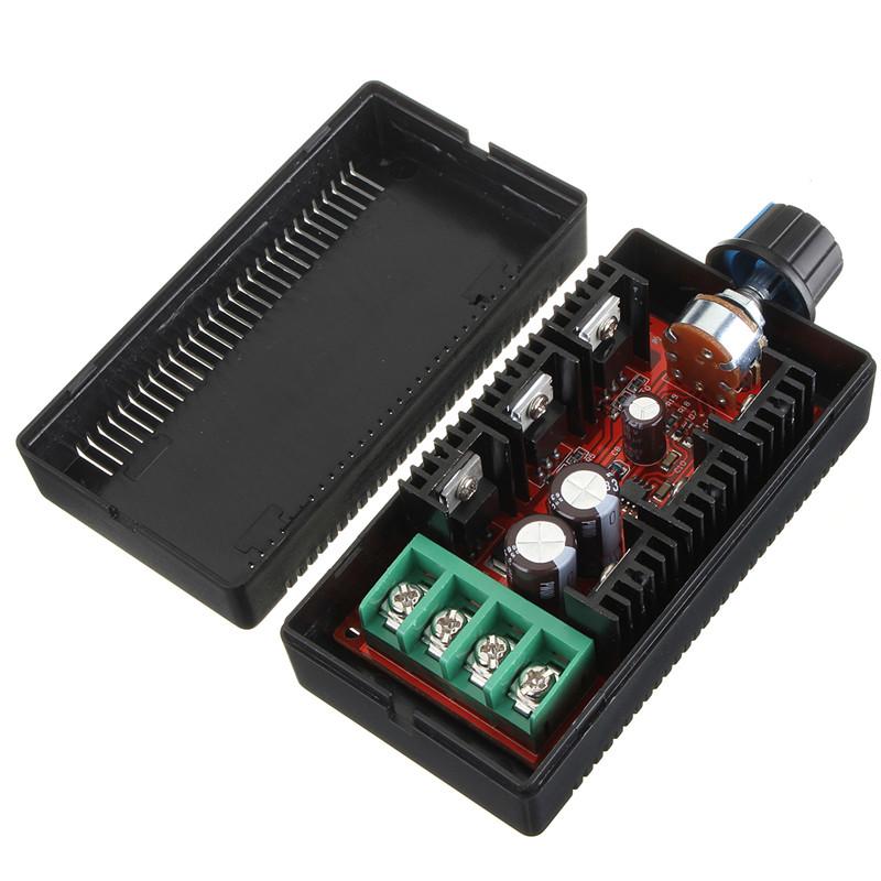 High Quality Newest 9-50V 40A DC Motor Speed Control PWM HHO RC Controller 12V 24V 48V 2000W MAX(China (Mainland))