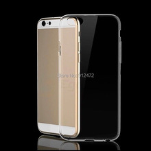 Clear Crystal Mobile Phone Hard Back Cover Case for iPhone 6 Plus 5.5