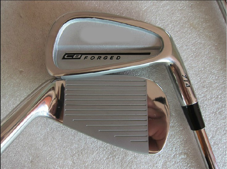 GOLF 2014 New CB 714 Forged Golf Irons 3~9P 8pcs/lot Steel R/S Shaft Golf Clubs Free Shipping(China (Mainland))