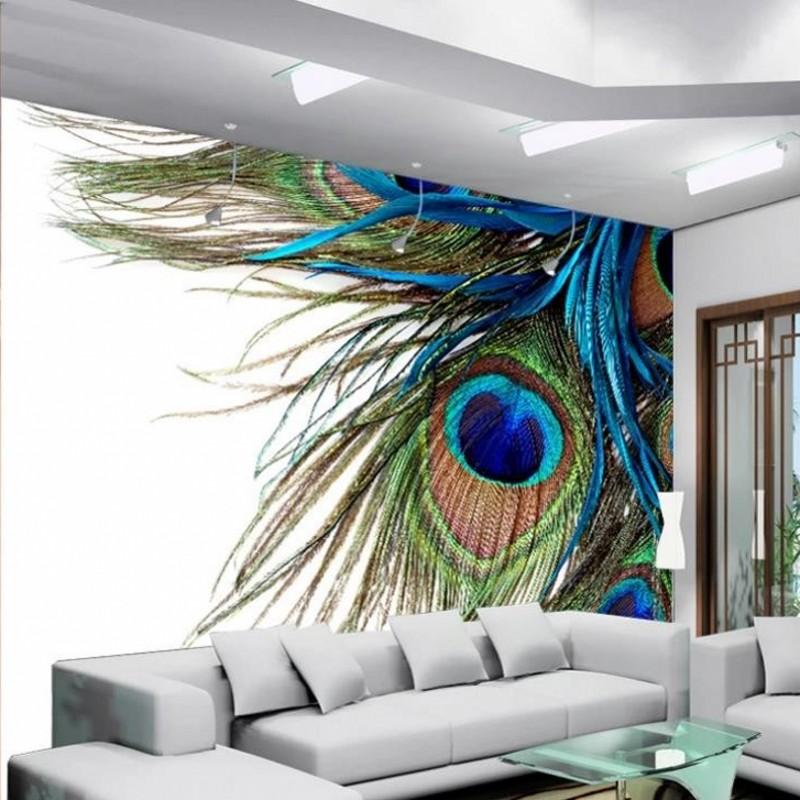 plume papier peint achetez des lots petit prix plume. Black Bedroom Furniture Sets. Home Design Ideas