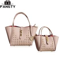 Buy 2016 New Fashion Women Messenger Bags PU Leather Handbag Litchistria Rivet Ladies Shoulder Bag Trapaze Women Cross Body Bags for $17.83 in AliExpress store