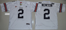 New Auburn Tigers 2 Cam Newton 34 Bo Jackson College Embroidery(China (Mainland))