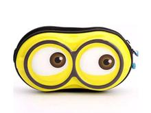 Minions bag messenger bag cute eggshell for kids case for coins and headphones