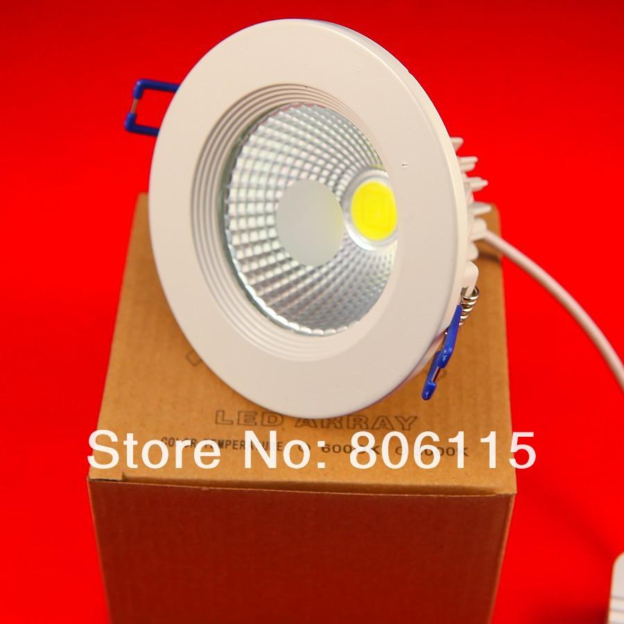 Dimmable 15W COB LED downlight,15W COB LED down light,led lamp 20pcs/lot,Free shipping(China (Mainland))