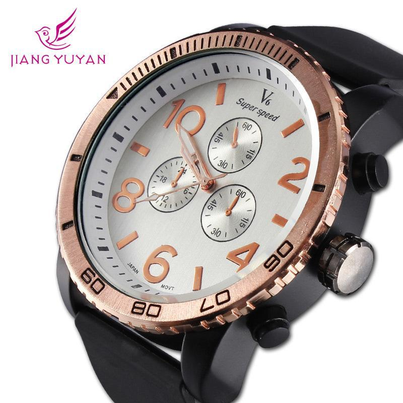 Coupon New Fashion Sports Watches Waterproof Rubber Watches Mens Casual Watch Wristwatches<br><br>Aliexpress