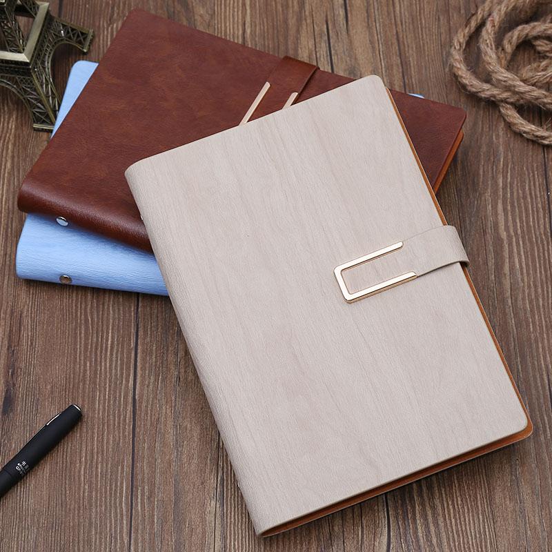 mignon en cuir cahier spirale fine agenda planificateur organisateur fournitures scolaires de. Black Bedroom Furniture Sets. Home Design Ideas