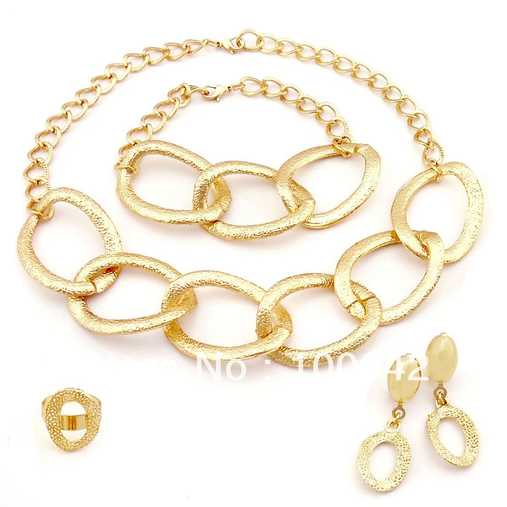 factory price top quality jewelry sets nice costume ...