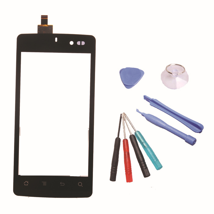 New arrivals Black Handwrite Panel Digitizer Touch screen For Archos 45  Platinum+Free Replacement  Repair Tool(China (Mainland))