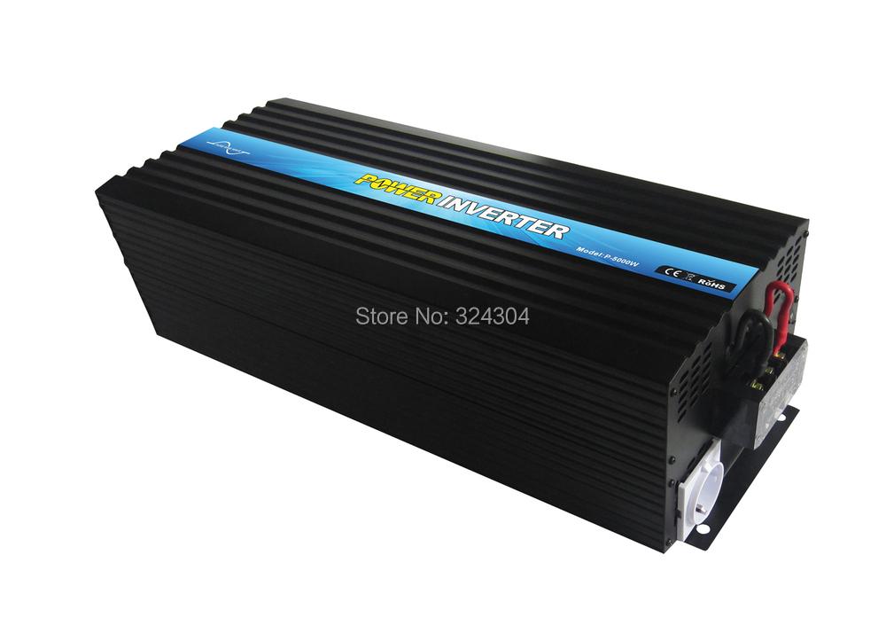 2013 New Hot Sale 4000W Solar Panel Inverter,dc12v/24v/48v to ac 100v/110v/220v/230v/240v for air coditioning free shipping!& wi(China (Mainland))