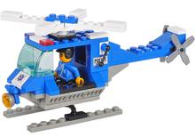 Nuevo 2014 Original Sluban bloques de construcción 68 unids/set Sim City / SWAT helicóptero de la policía ladrillos Compatible con juguetes Lego