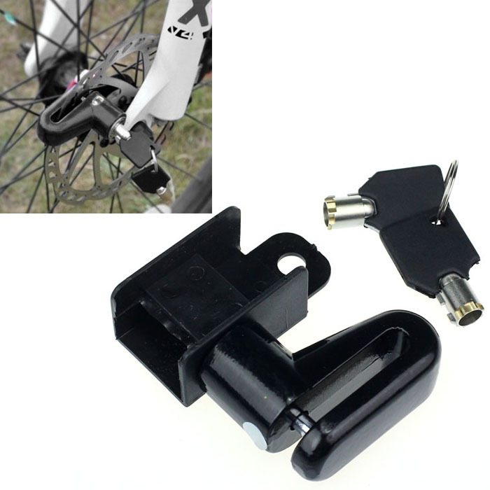 Sanwony Three colors new arrivel Hot Scooter Bike Bicycle Motorcycle Safety Anti-theft Disk Brake Rotor Lock(China (Mainland))