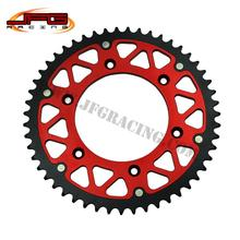 Buy 49T RED REAR SPROCKETS HUSKY TE TC FE FC OFF ROAD MOTORCYCLE MOTOCROSS SUPERMOTO RACING BIKE for $47.70 in AliExpress store