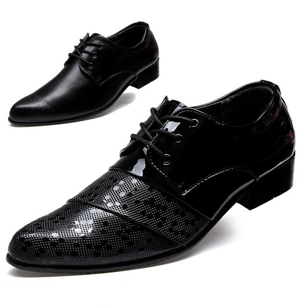 British Men Oxfords Fashion Casual Leather Shoes Black Color Spring Autumn Male Flats Sapatos Masculinos Social Zapatos Hombre - CN store