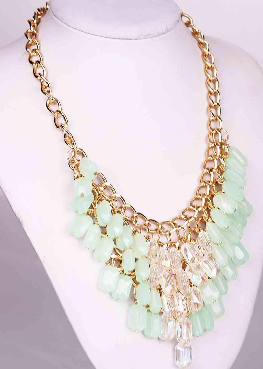 Fashion Handmade Woman Resin Pendants Bohemia Style Bib Statement Women Choker Brand Necklaces - YaYi Jewelry store
