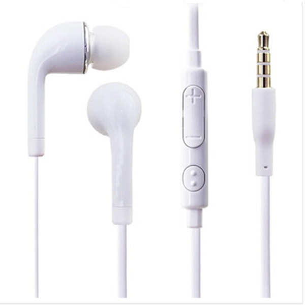 High Quality Earphone 3.5mm Earphones In Ear Noise Isolating Mic Headphones With Microphone Ear Buds for Samsung Galaxy