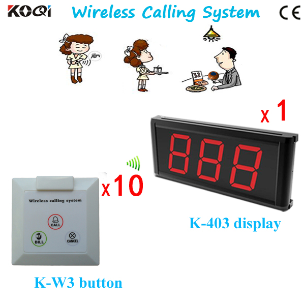 Guest Calling Waiter System Personal Paging Service(China (Mainland))