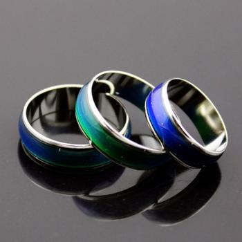 2015 European Vintage Creative Emotion Mood Ring Color Changing Personality Ring Rings For Men Women Party Free shipping