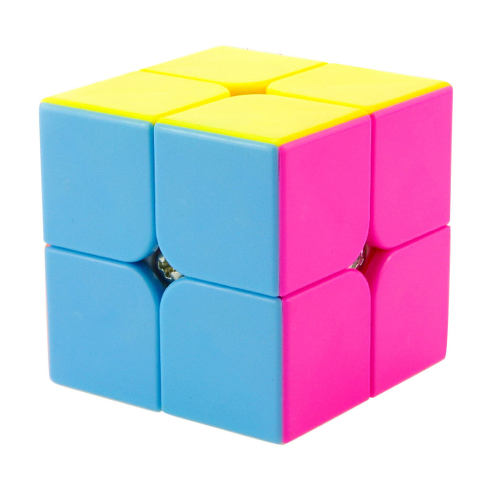 NEW 2016 High Quality Yongjun Moyu Yupo 2x2x2 Stickerless Magic Cube Competition Speed Puzzle Cubes Toys For Kids(China (Mainland))