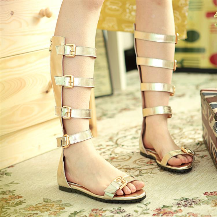 h45 s flat gladiator sandals strappy buckle