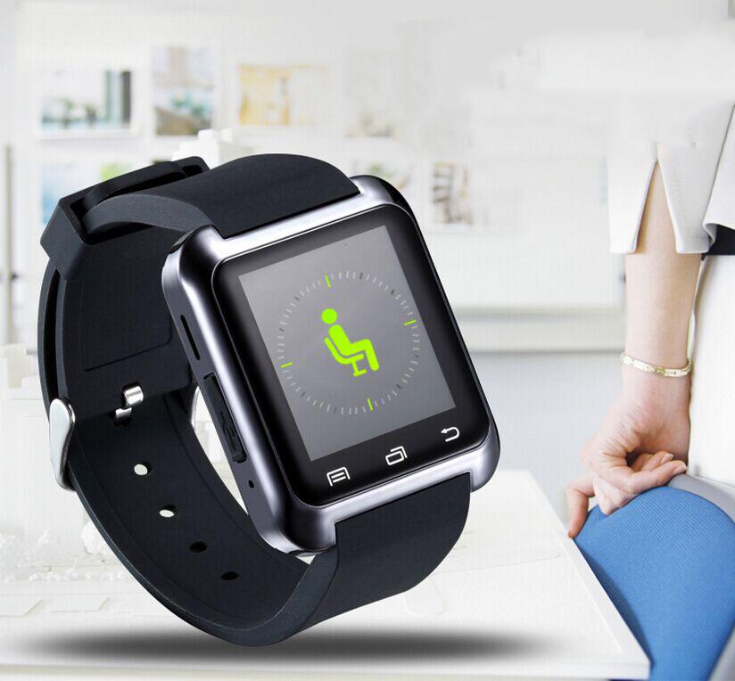 Bluetooth Smartwatch U8 U Smart Watch for iPhone 6 puls 5S Samsung S4 Note 3 HTC