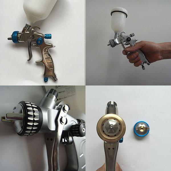 SAT1216 air paint gun brush machine polyurethane spray nozzle airbrush guns