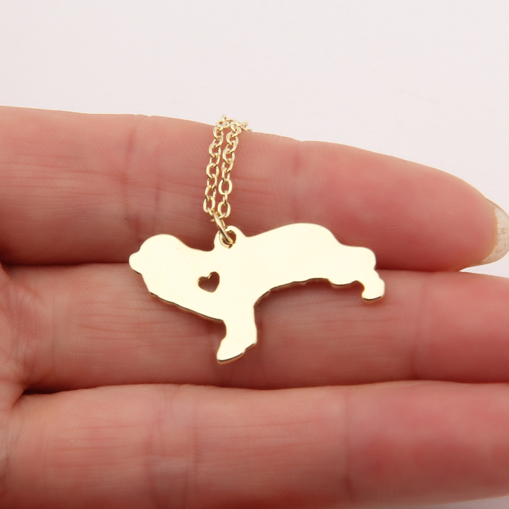 20pcs Cavalier King Charles Spaniel Necklace Dog Memorial Gift Breeder Pet Necklaces &amp; Pendants Delicate Women Animal Charms<br><br>Aliexpress