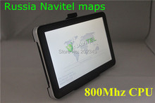 Hot sale in Russia! 7 inch car GPS navigation, DDR 128 MB, 800Mhz CPU 4GB ROM, free Europe maps or 2015 Russia Navitel 9.1 maps(China (Mainland))