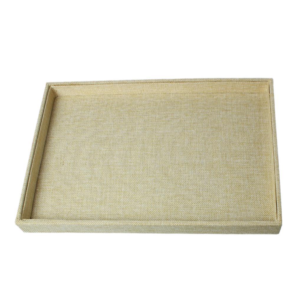 """Здесь можно купить  Cotton & Linen Jewelry Bags Boxes Rectangle Beige 35cm(13 6/8"""") x 24cm(9 4/8""""),1 Piece 2015 new  Ювелирные изделия и часы"""