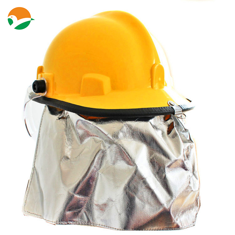 Safety Helmet glass fiber material with protective screen