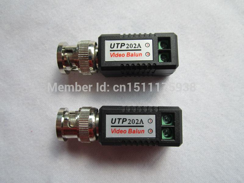 Quality Cheapest enhanced Video Balun Twisted BNC CCTV Video Balun passive Transceivers UTP Balun BNC Cat5 CCTV  Video Balun 202<br><br>Aliexpress