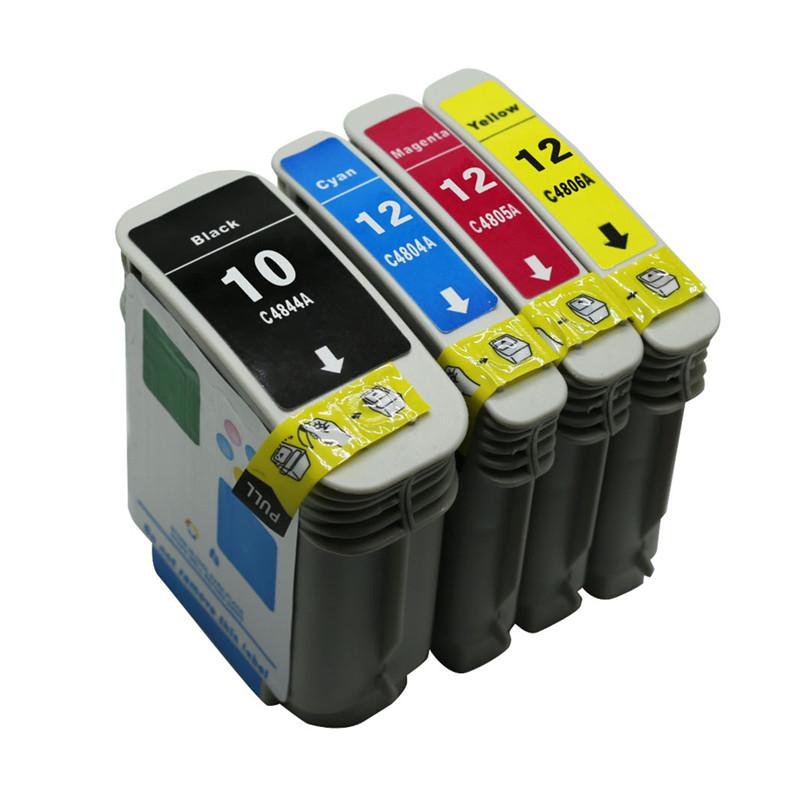 4PK for H-C4844A(10BK) Color Ink Cartridge Set For HP Business Inkjet 3000/3000n/3000dtn Printer No. 96(China (Mainland))