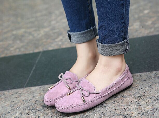 2015 Size 4~9 Fashion Spring Women Shoes Sweet Bowtie Flat Women Shoes JQ<br><br>Aliexpress