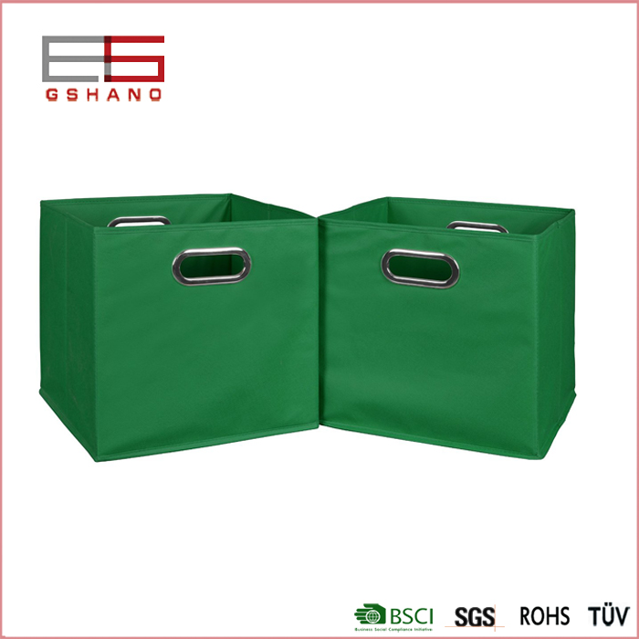 1Pair Metal Portable Organizer for Clothing/Toy/Underwear/Bra Ornaments Non-Woven Fabric Food Container Storage Boxes & Bins(China (Mainland))