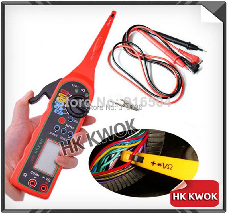 2015 Multi-function Auto Circuit Tester Multimeter Lamp Car Repair Automotive Electrical Multimeter 0V-380V Voltage P50(China (Mainland))