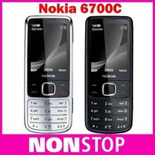 6700c Unlocked Original Nokia 6700 Classic Gold Cell Phone GPS 5MP Russian Keyboard Refurbished(China (Mainland))
