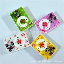 Wholesale Quality Clip ONLY M-Mouse MP3 Player with TF card slot for leisure (no accessories),(China (Mainland))