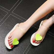 2017 Summer New Clip Toe Jelly Sandals For Women Size 38 39 Discount Cheap Hot Sale Ladies Shoes Frauen Sandalen Rabatt Billge(China (Mainland))