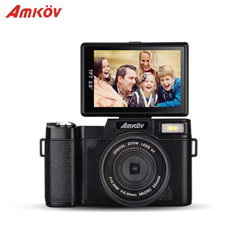 AMKR2 Digital SLR Camera With Wide-angle Lens 8.0MP CMOS Max 24MP Rotatable Screen(China (Mainland))