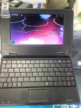 first VIA 8850 7inch netbook come with android 4.0 OS in hot sale now!