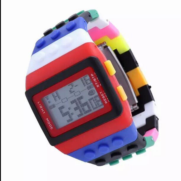 New LED Watch Women Kids Watch Fashion Casual Cartoon Watches Colorful Rainbow Girls Boys Digit Clock