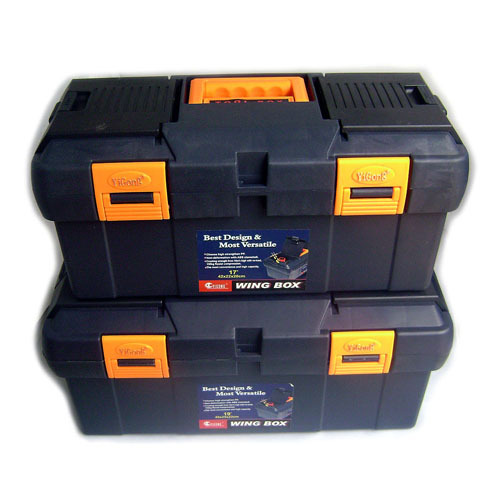 The new multi-functional portable plastic toolbox thick 17 -inch / 19 inch durable storage box(China (Mainland))