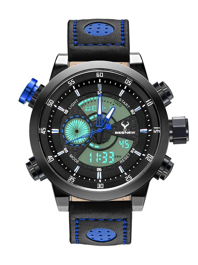 2016 Luxury Brand Waterproof LED Quartz MEN Watch For Male reloj hombre relogio relogio masculino Gifts Watch Business clock<br><br>Aliexpress