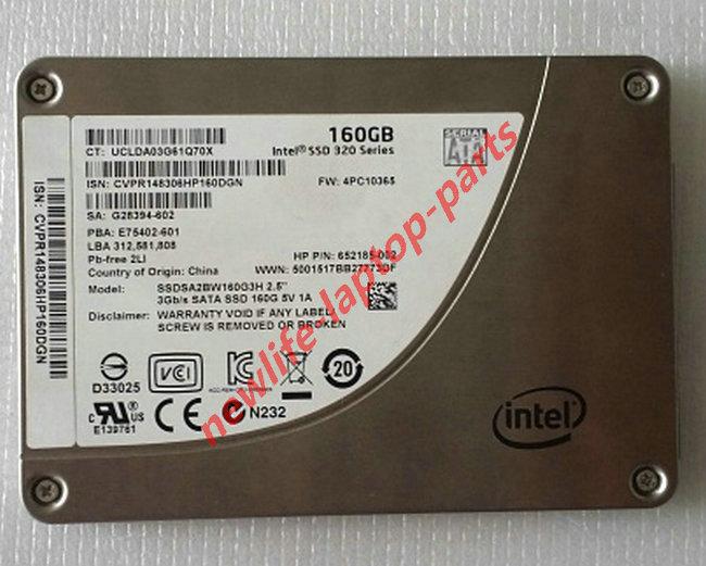 original LAPTOP 160GB 2.5in SATA 3G SSDSA2BW160G3H test good free shipping<br><br>Aliexpress