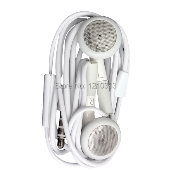 10x Earphone Headphone With Mic For iPhone 4G 4S 3GS 3G Mp3 iPod Touch Nano TH88 ES88(China (Mainland))