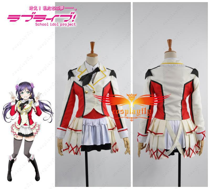 Love Live! School Idol Project Season 2 Nozomi Tojo Cosplay Costume Any Size H002Одежда и ак�е��уары<br><br><br>Aliexpress