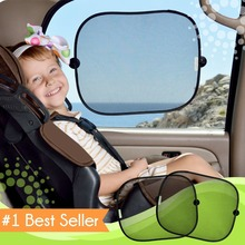 Essential 2Pcs/Lot Black Side Car Sun Shade Rear Window Sunshade Cover Auto Accessories Mesh Visor Shield Screen Car