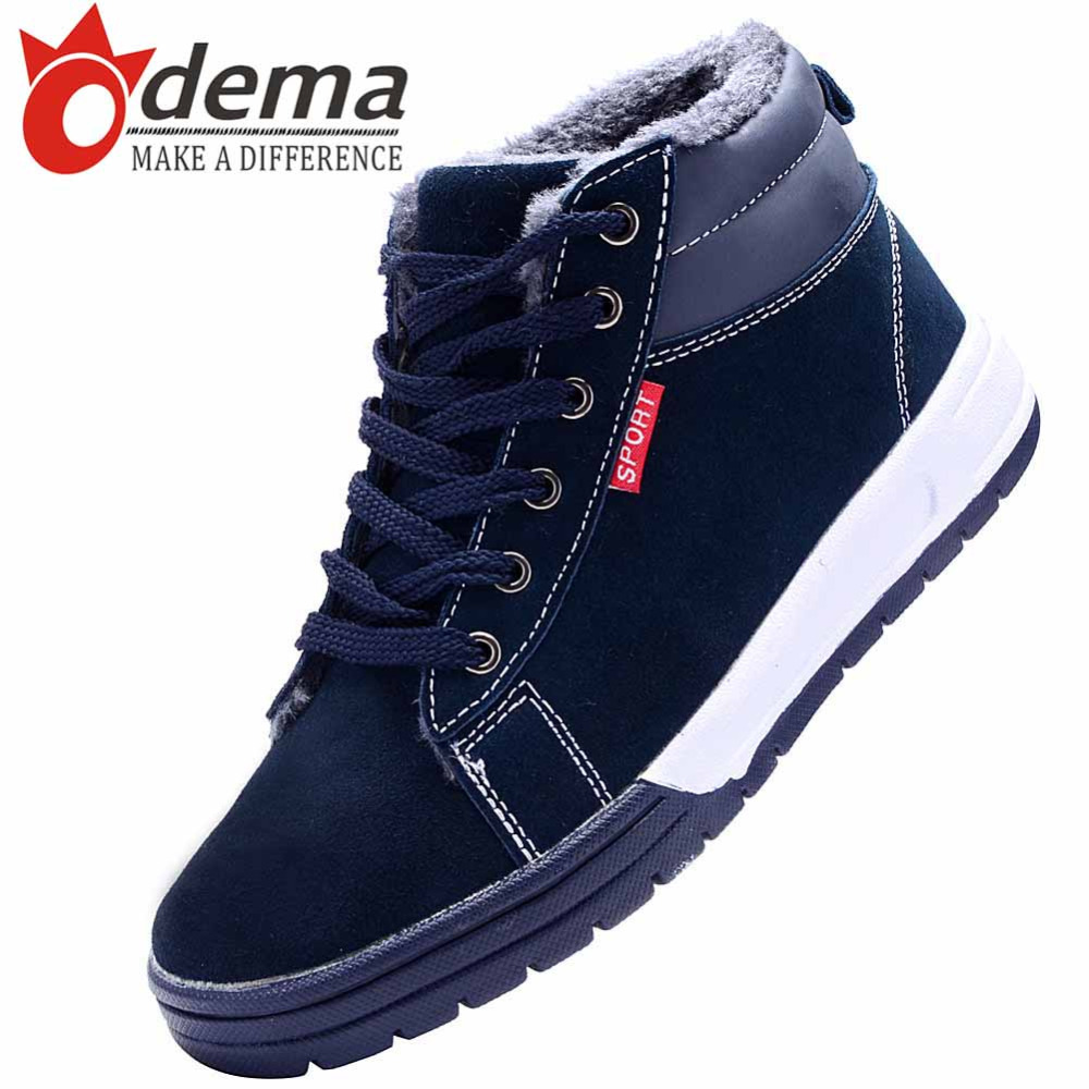 New 2015 Winter Fashion Men Casual Shoes High Top Men Shoes Genuine Leather Suede Lace Up Men Boots Men's Flats Shoes(China (Mainland))