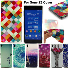 For Sony Xperia Z3 Phones Cases Soft TPU Cell Phone Cover For Sony Xperia Z3 D6603 D6643 D6653 D6616 D6633 Shockproof Case