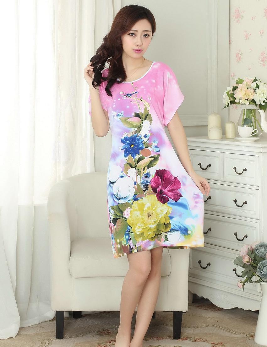 women's cotton sleeveless house dresses « Bella Forte Glass Studio